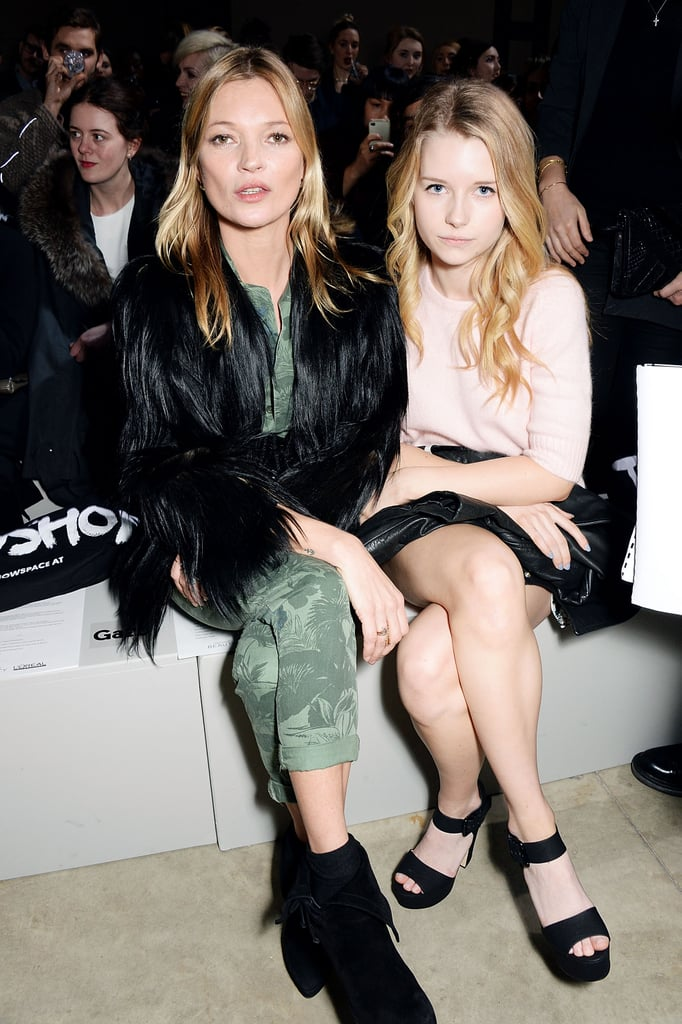 Kate and Lottie Moss
