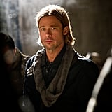 Those pursed lips, that jawbone, even that middle-part — Brad Pitt defines hotness.