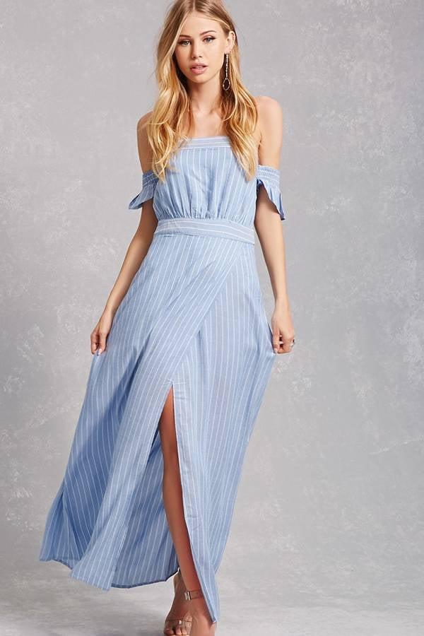 Blue and white summer dresses forever 21