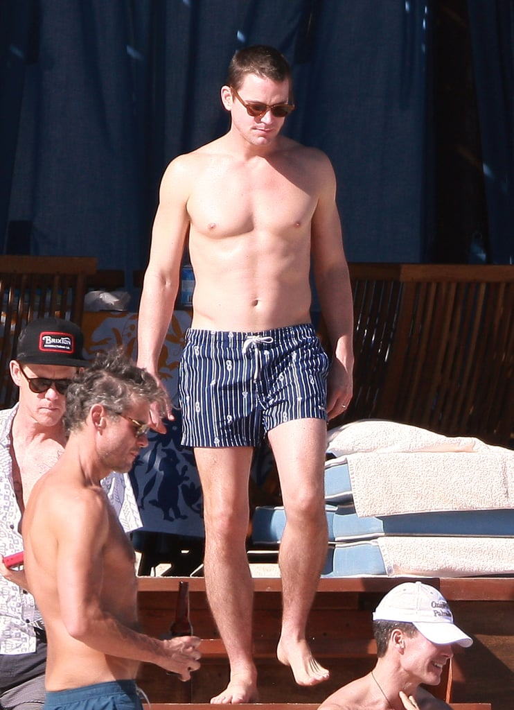 Matt Bomer celebrated his boyfriend Simon Hall's birthday in Cabo in January 2014.