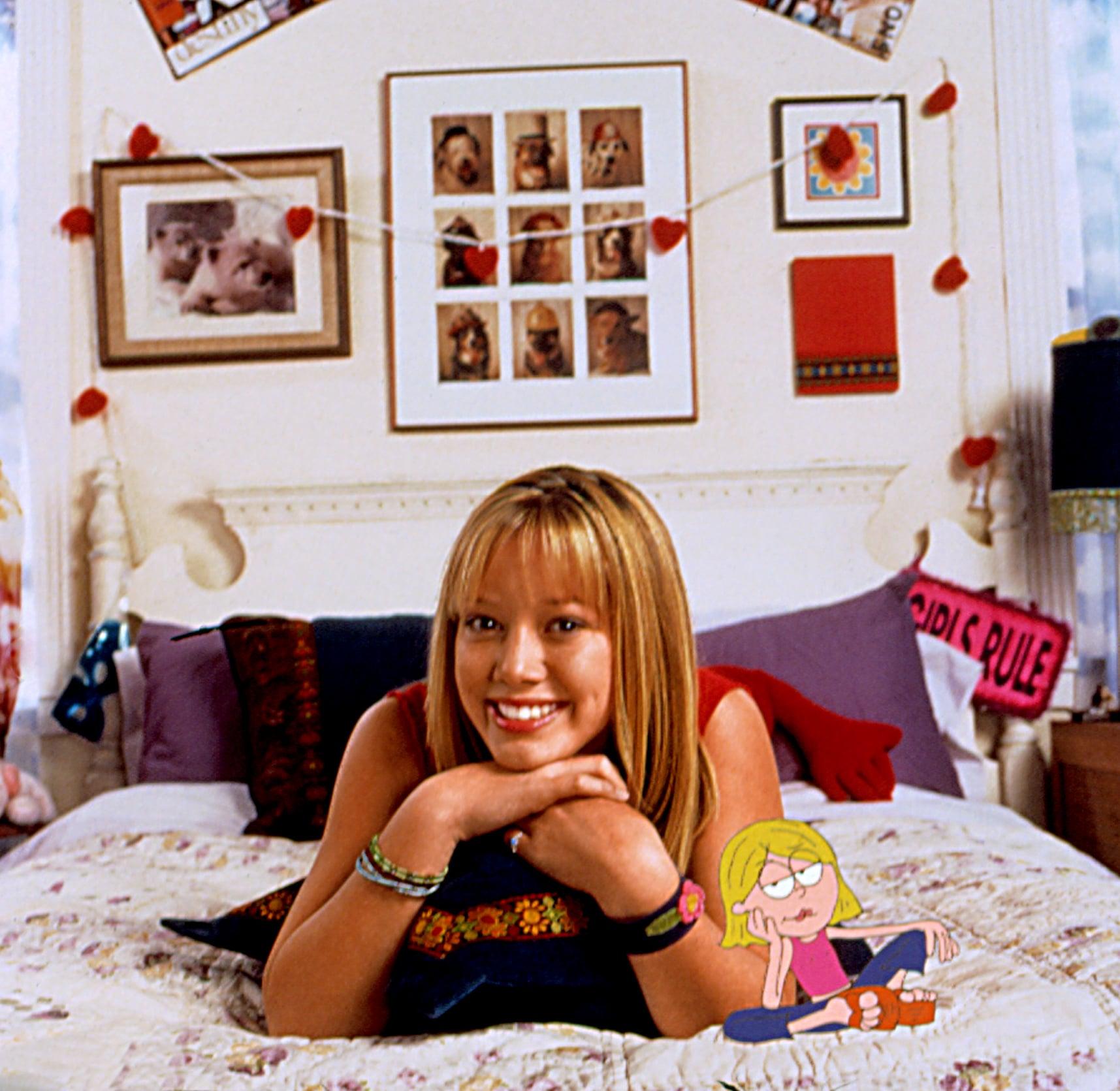 LIZZIE MCGUIRE, Hilary Duff, 2001-03