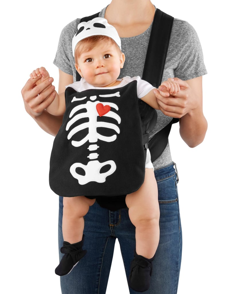 Skeleton Family Halloween Costumes.Little Skeleton Carter S Baby Carrier Halloween Costumes