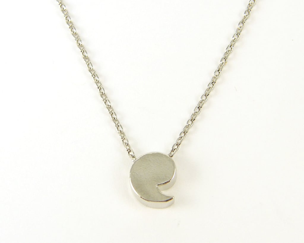 Comma Necklace ($16)