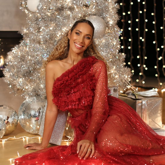 Leona Lewis's Shimmering Magic of Christmas Makeup Look 2020