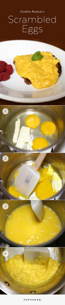 Gordon Ramsay's Scrambled Eggs Recipe With Pictures