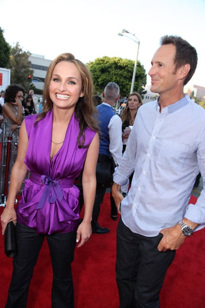 Giada and her Anthropologie designer hubby Todd Thompson, who have been together for 22 years, made an appearance at the Westwood, CA, premiere of Julie & Julia in 2009.