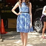 Girls' Allison Williams proved she's just as much fun to watch off screen with this adorable Summer dress.