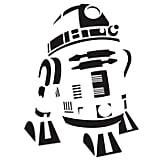 R2-D2 Pumpkin Template