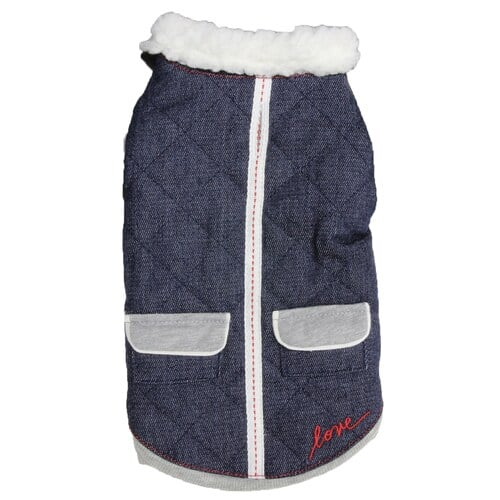 ED Ellen DeGeneres Denim Pet Jacket