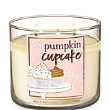 Pumpkin Cupcake Three-Wick Candle