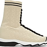 Somewhere between a boot and a trainer, these Fendi Beige Sock High-Top Sneakers ($880) will add sporty edge to flowy dresses and sexy minis.