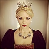 Jamie King was positively regal on the Hart of Dixie set. Source: Instagram user jaime_king