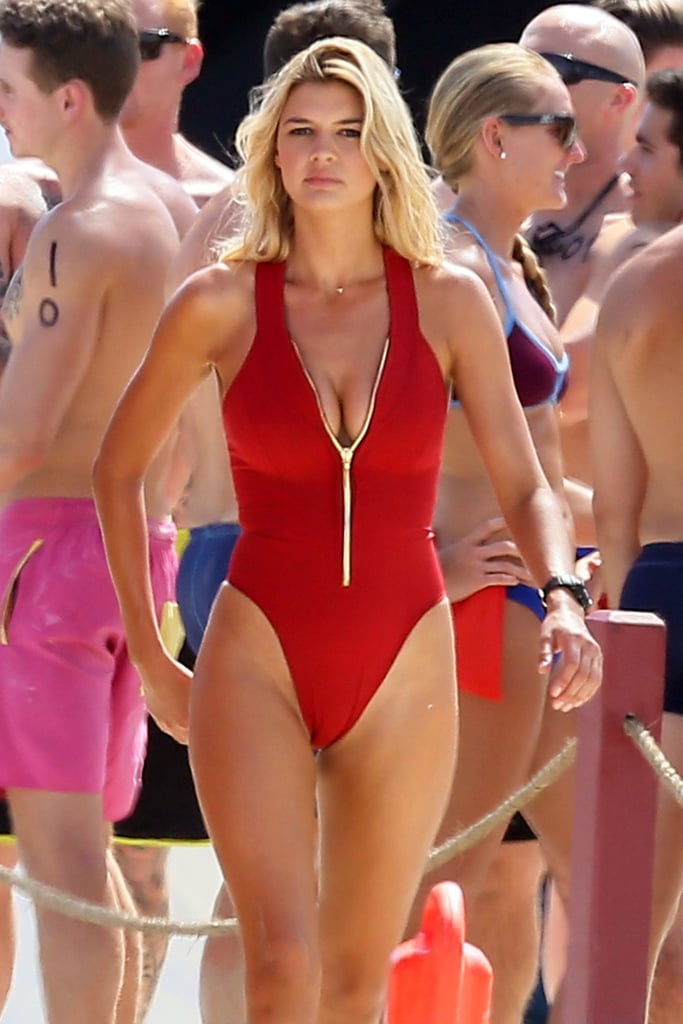 Kelly Rohrbach Was Spotted Filming Scenes For Baywatch In -2860