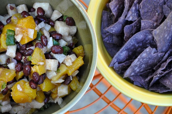 Mango, Black Bean, and Jicama Salsa