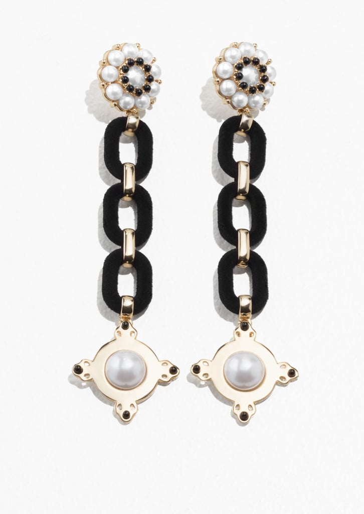 & Other Stories Statement Chain Earrings