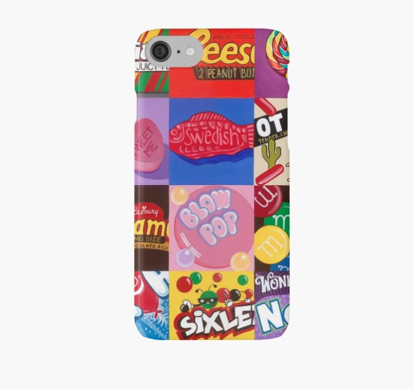 'Candy Wrapper' iPhone 7 Case ($26)