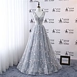 Embroidery Lace Star Dress