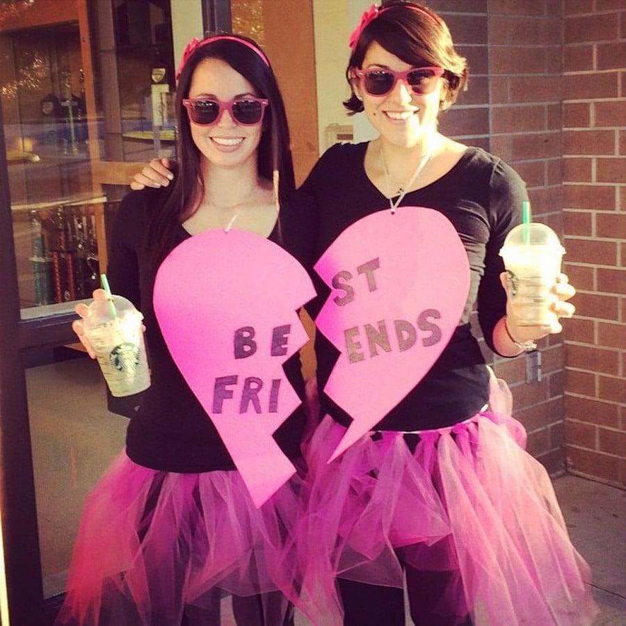 diy halloween costumes for best friends   popsugar smart living