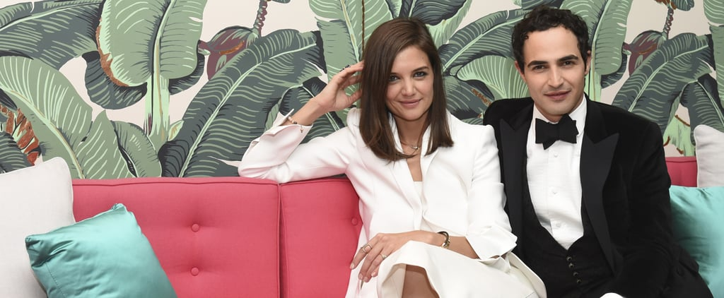 Katie Holmes Is Showing Off a Brand New Look —and It's All Thanks to Zac Posen