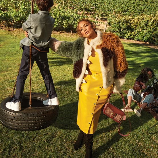 J Lo and Her Kids Emme and Max Star in Coach's New Campaign