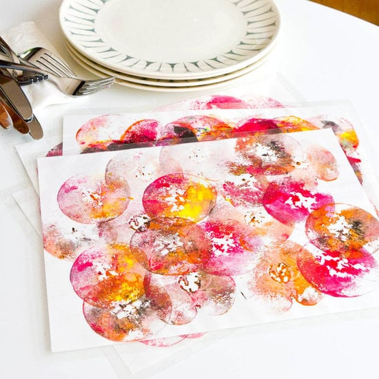 Apple Print Place Mats