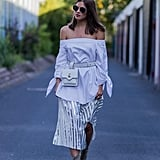 1. If you like off-the-shoulder tops . . .