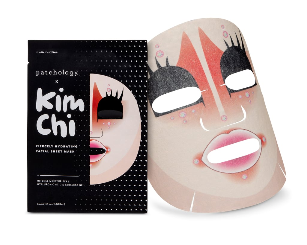 Patchology x Kim Chi Fiercely Hydrating Facial Sheet Mask ($8)