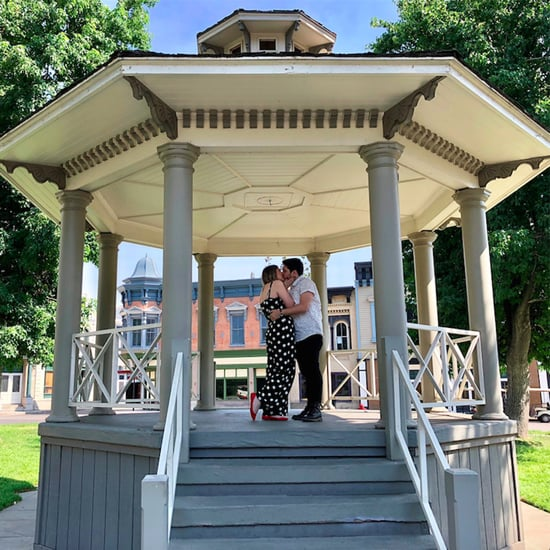 Gilmore Girls Fan Proposal at Stars Hollow Gazebo 2018