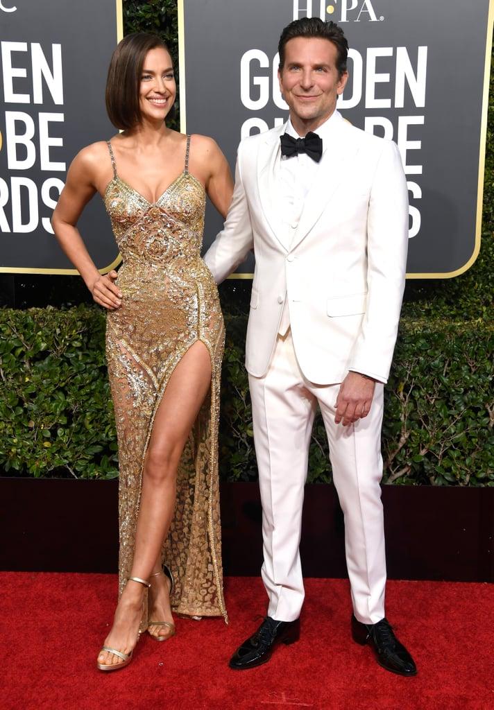Irina Shayk at the 2019 Golden Globes