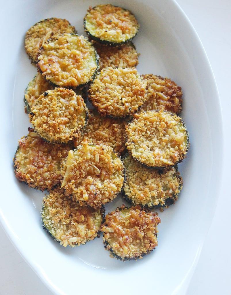 Courgette Parmesan Crisps