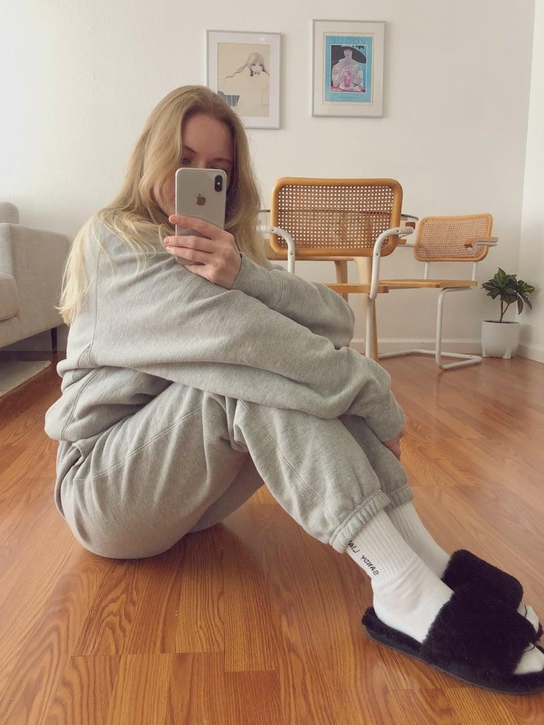 Matching Champion Sweatshirt and Sweatpants Review