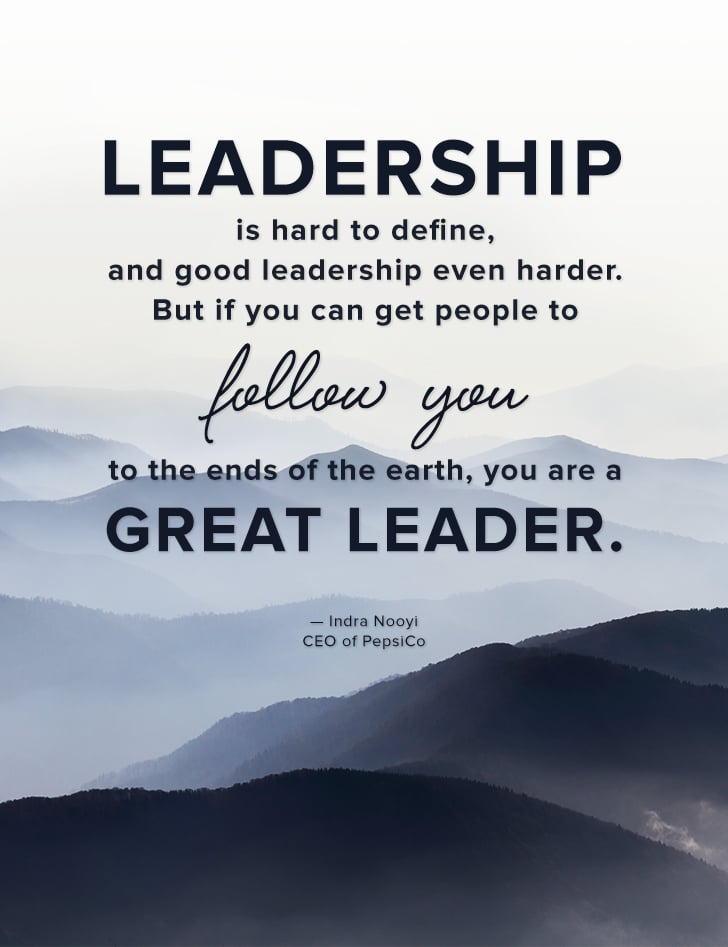 Great Quotes About Success Inspiration Leadership Is Hard To Define And Good Leadership Even Harder