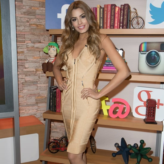 Miss Colombia on The Steve Harvey Show January 2016