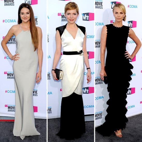 Pictures of Celebrity Red Carpet Minimilast Trend at the 2012 Critics' Choice Awards