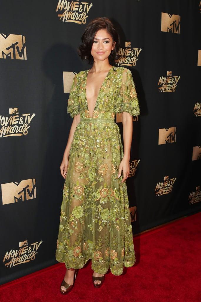 Zendaya Zuhair Murad Dress at the 2017 MTV Movie Awards