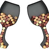Wine Glass Cork Holder