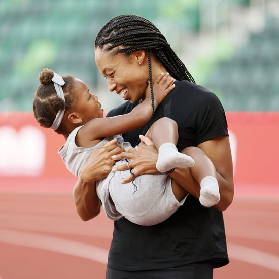 Allyson Felix Letter to Daughter Camryn Before Olympics