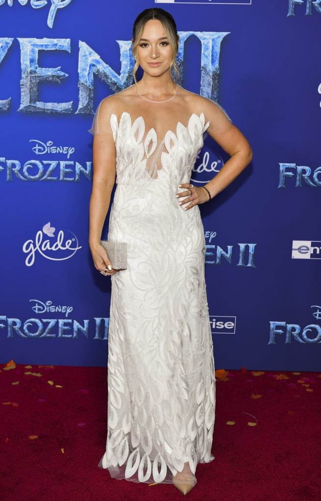 Alisha Marie at the Frozen 2 Premiere in Los Angeles