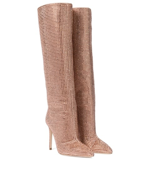 Paris Texas Holly Suede Knee-High Boots