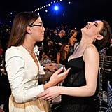 Millie Bobby Brown and Joey King at the 2020 SAG Awards