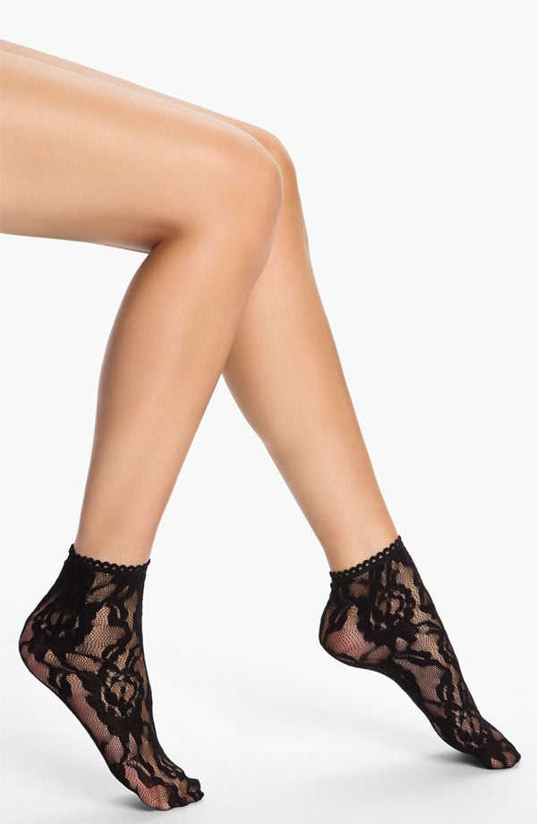 Following suit on Dolce & Gabbana's Fall '12 look, try this Nordstrom lace anklet sock ($9) with a Mary Jane-style pump. The pop of romantic lace will give any ensemble a sexy edge.