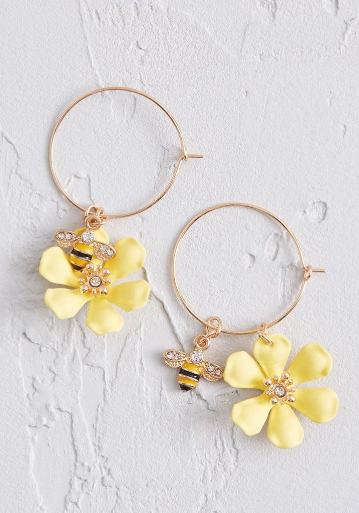 Vital Visitor Bee Earrings