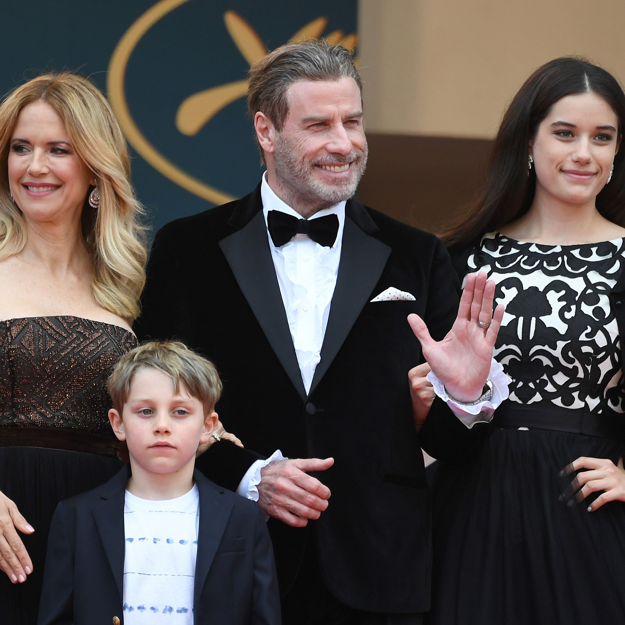 John Travolta and His Family at Cannes Film Festival 2018 ...