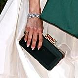 Jennifer Lopez's Diffused French Manicure
