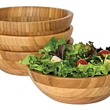 Bamboo Salad Bowls ($42 for set of 4)