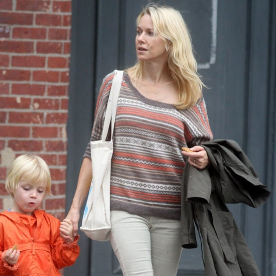 Naomi Watts Wearing Fair Isle Sweater