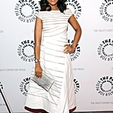 """Kerry Washington walked the red carpet at the """"She's Making Media"""" panel at the Paley Center in NYC."""