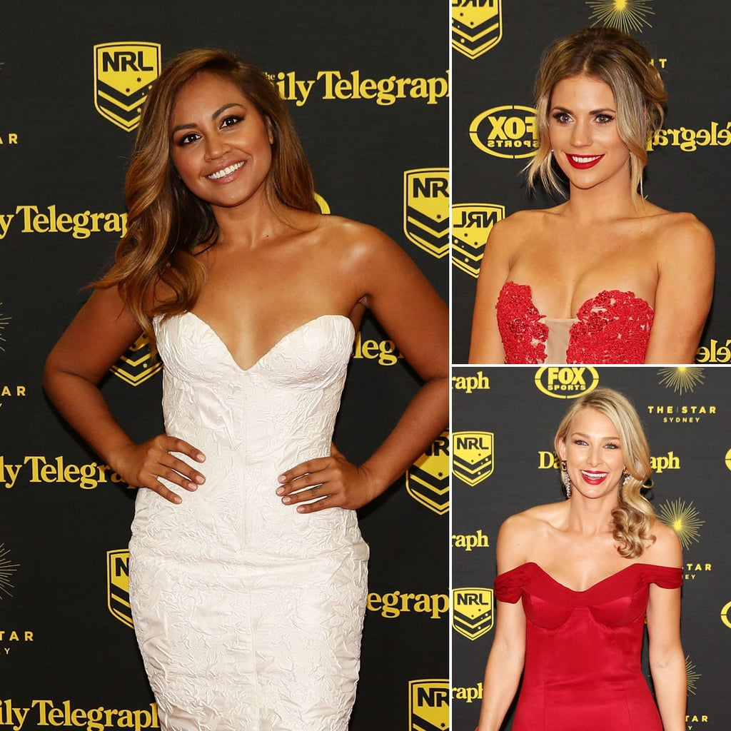 2014 Dally M Awards Red Carpet Best Beauty Looks