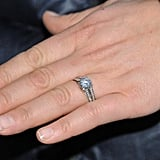 Her Icy Diamond Engagement Ring Fit Right in With the Shoot