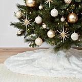 Faux-Fur Christmas Tree Skirt